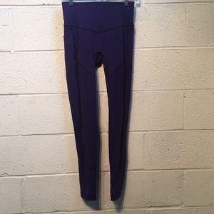 Lululemon purple legging, sz 6, 57752